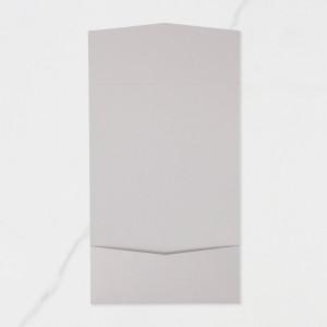 "Carpeta Butxaca Postal | Horitzontal - ""GRIS PERLA"""