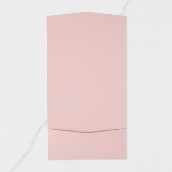 "Carpeta Bolsillo Postal | Horizontal - ""ROSA NUDE"" 