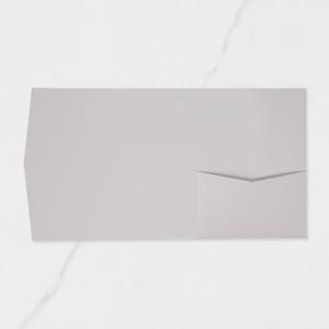 "Carpeta Butxaca Postal | Vertical - ""GRIS PERLA"""