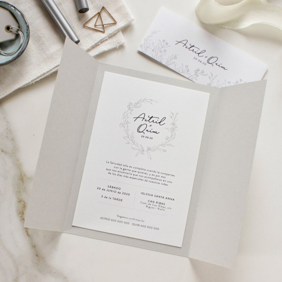 "Invitación boda - ""OLIVIA"" 