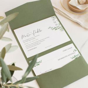 """Invitación boda - """"AURA"""""""