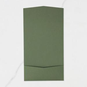 "Carpeta Bolsillo Postal | Horizontal - ""VERDE OLIVO"""