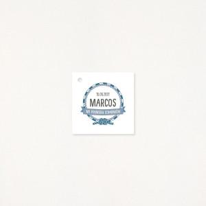 """Tarjeta Detalle comunión - """"MARINERO"""""""