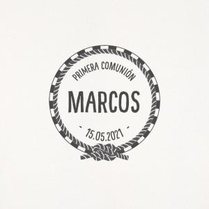 "Sello comunión - ""MARINERO"""