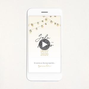 """Vídeo invitació casament - """"LIGHTS"""""""