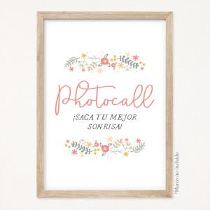 "Cartell bateig - ""FLORAL"" | This Is Kool"