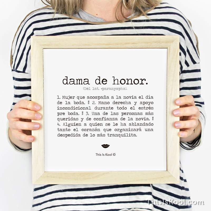 Para Damas de Honor - This Is Kool