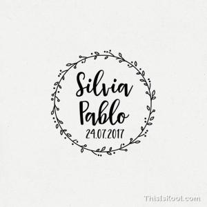 """Segell casament - """"OLIVERA"""""""