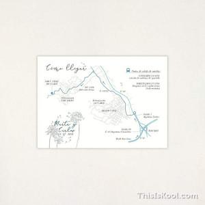 "Mapa boda - ""WISH"" | This Is Kool"