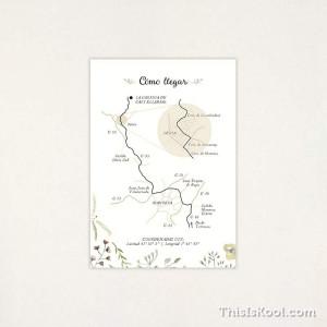 "Mapa boda - ""NATURA"" | This Is Kool"