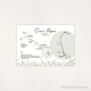 """Mapa casament - """"CORONA OLIVERA"""""""