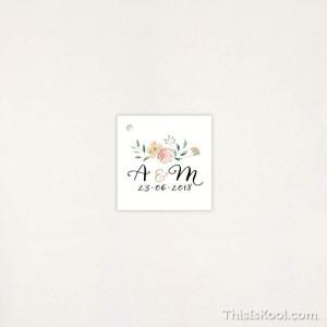 "Targeta Detall casament - ""FLORAL"" | This Is Kool"