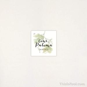 """Targeta Detall casament - """"VINYA"""""""