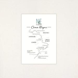 "Mapa casament - ""POLAROID"" | This Is Kool"