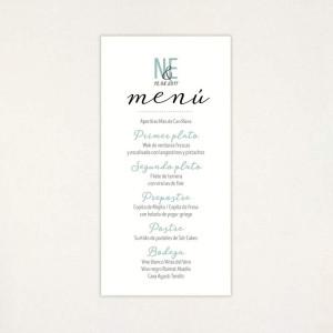 "Menú casament - ""POLAROID"" | This Is Kool"