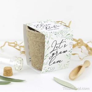 "Kit semillas boda - ""CORONA OLIVO"""