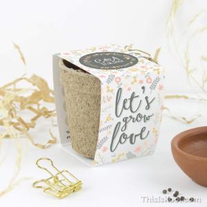"Kit semillas boda - ""CORONA FLORES"""