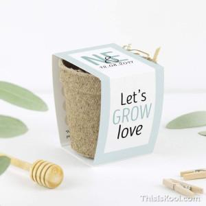 "Kit semillas boda - ""POLAROID"""