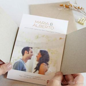 """Invitació casament - """"PURE LOVE"""""""