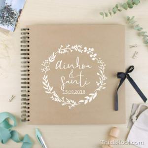"Álbum boda - ""BOTÁNICA"""