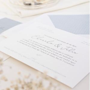 """Invitación boda - """"CLÁSICA"""""""