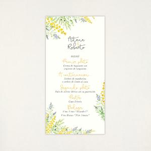 """Menú casament - """"ALEGRIA"""""""