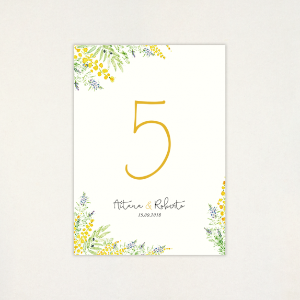 """Número mesa boda - """"ALEGRÍA"""""""