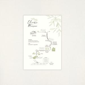"""Mapa boda - """"CALMA"""""""