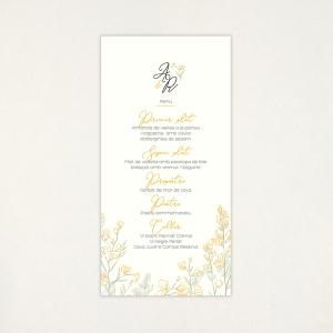 "Menú casament - ""GINESTA"""