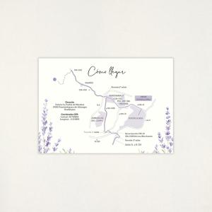 """Mapa boda - """"LAVANDA"""""""