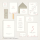 "Tarjeta Lista boda - ""SOFT"" 