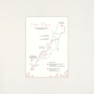 "Mapa boda - ""SOFT"""