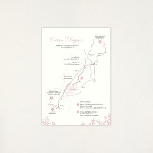 "Mapa casament - ""SOFT"""