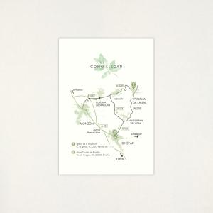 """Mapa boda - """"GARDEN"""""""