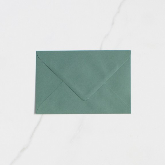 "Sobre Postal - ""VERDE ABETO"" 