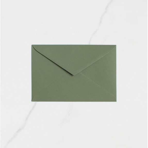 "Sobre Postal - ""VERDE OLIVO"" 