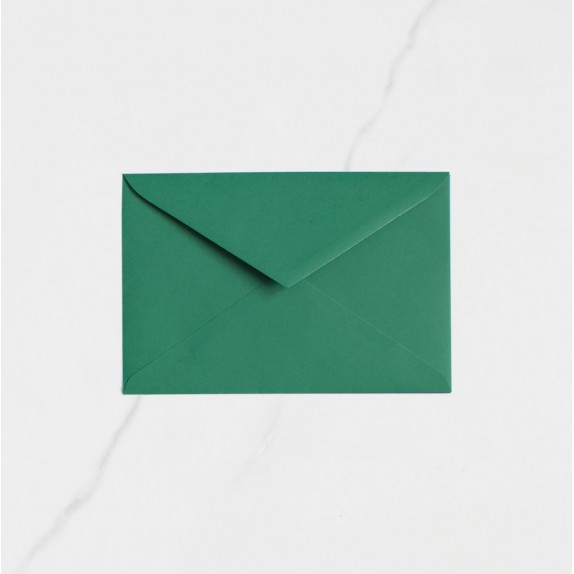 "Sobre Postal - ""VERDE HOJA"" 
