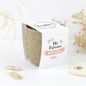 """Kit semillas comunión - """"CORONA FLORES"""""""