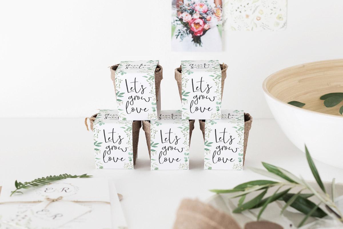 Kits de semillas para bodas