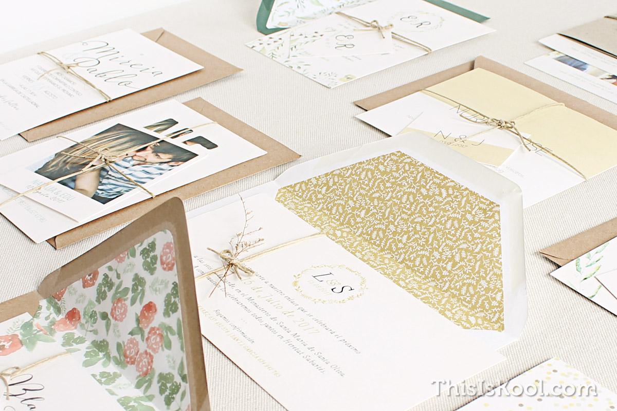 Dudas frecuentes sobre invitaciones de boda El Blog de This Is Kool