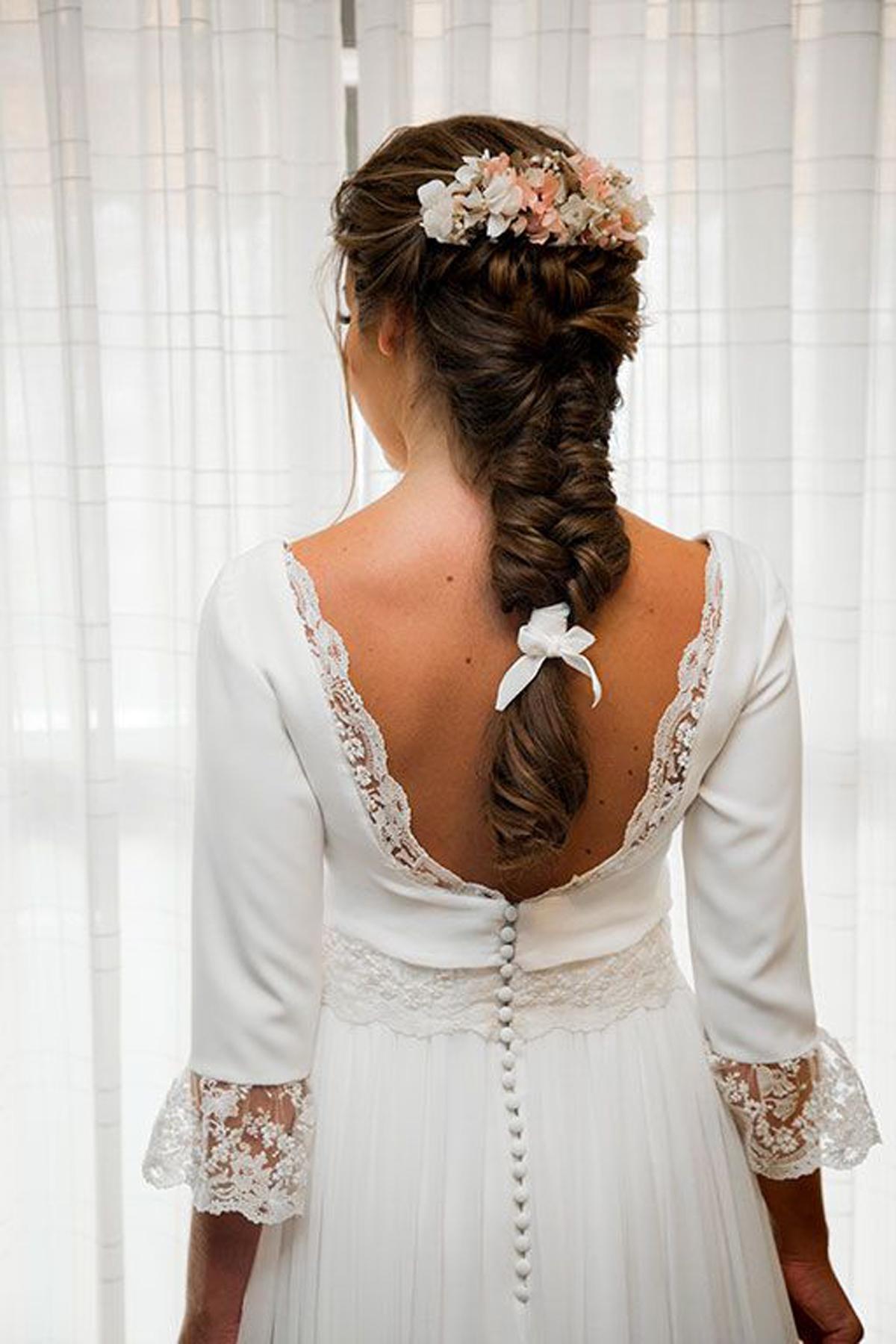 Completamente imperfecto peinados para boda Fotos de cortes de pelo Consejos - Los mejores peinados para novias con estilo - El Blog de ...