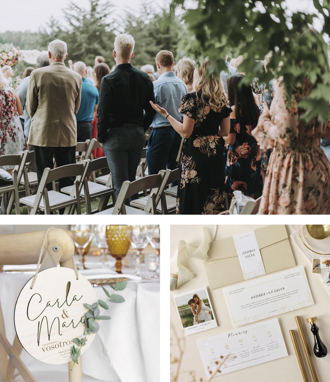 ideas de como organizar una boda