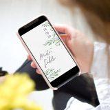 Invitación de boda formato digital