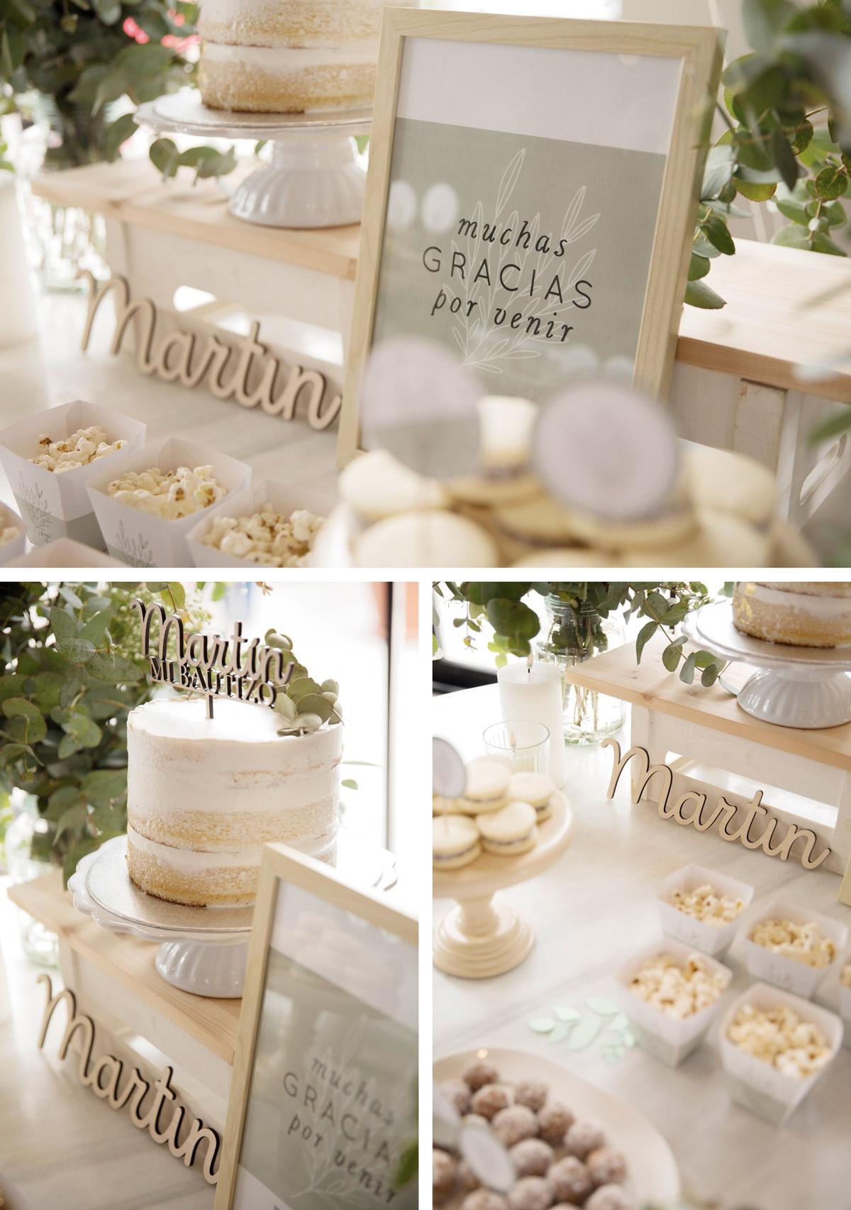Ideas para decorar mesa dulce de bautizo