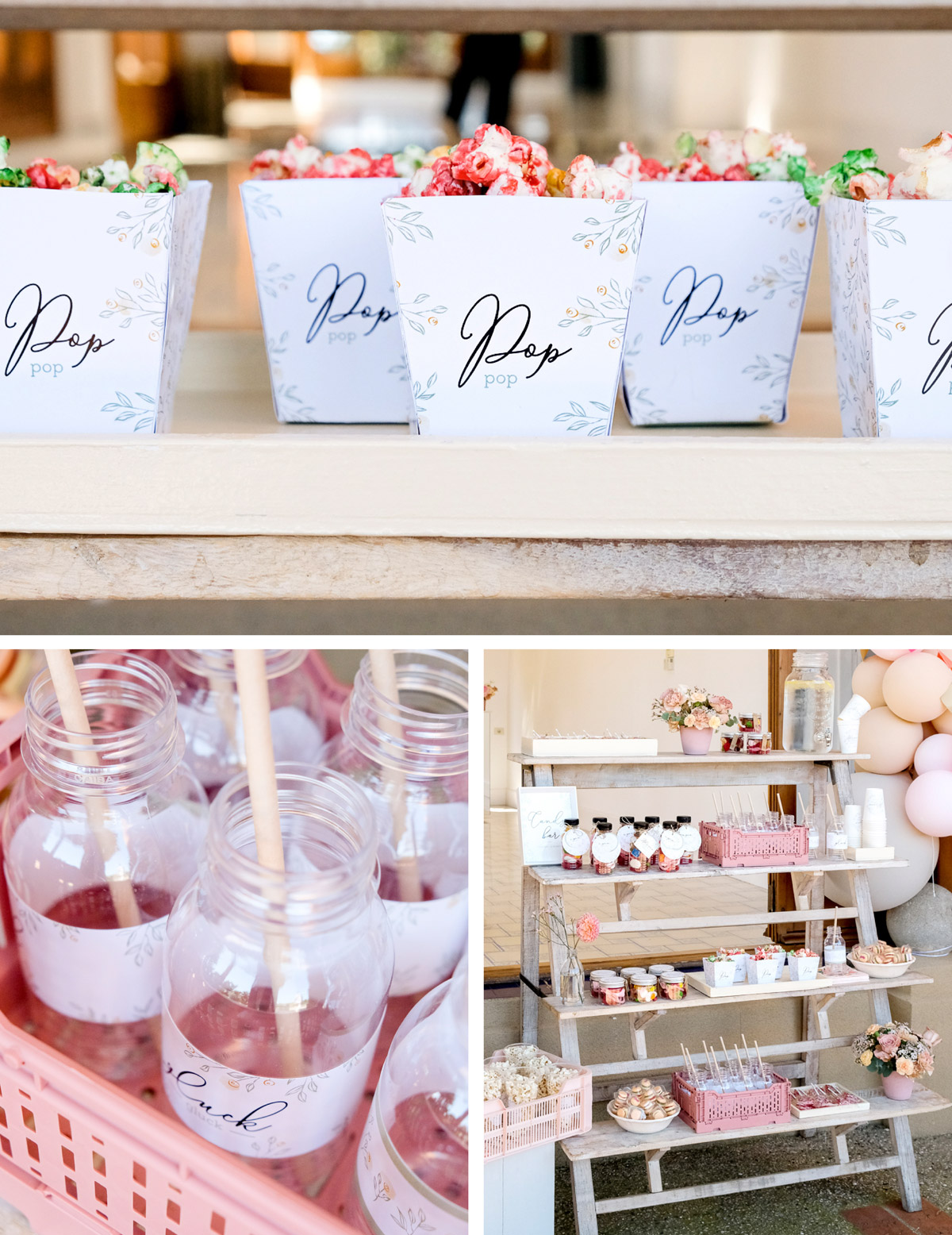 Imprimible para hacer decoración de una mesa dulce para una fiesta de Primera Comunión