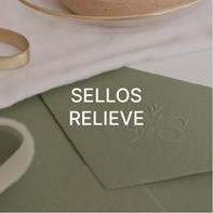 Sellos relieve